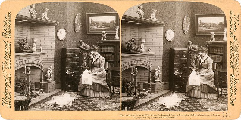 Old stereoscopic image 2