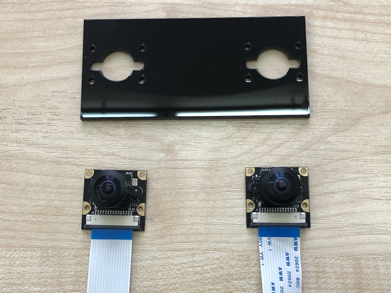 StereoPi camera mount plate (classic)