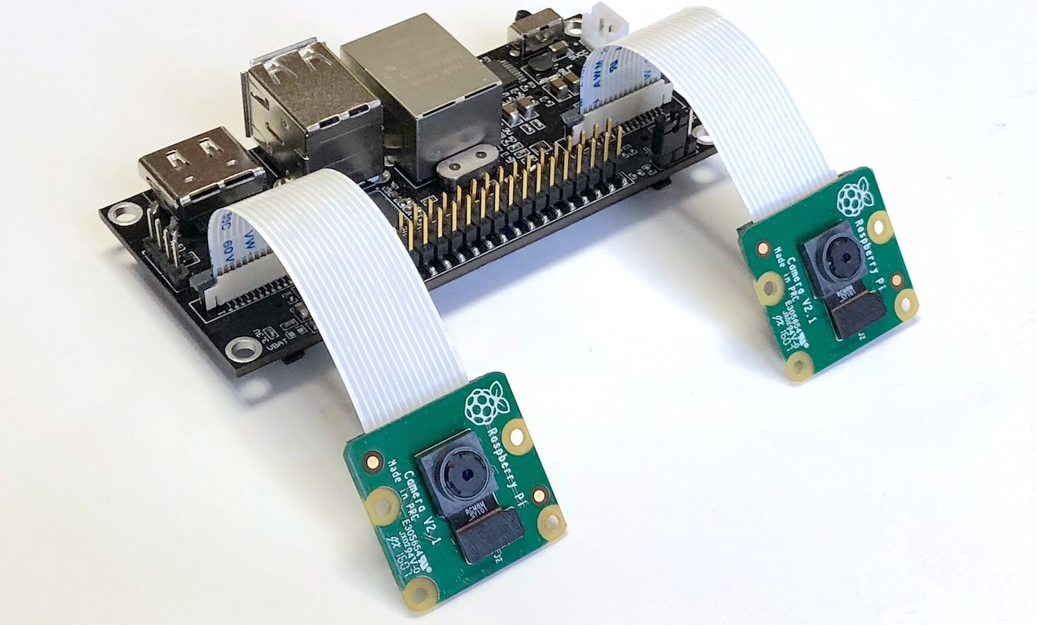 Stereo camera with CM3 inside for OpenCV learners, drones and