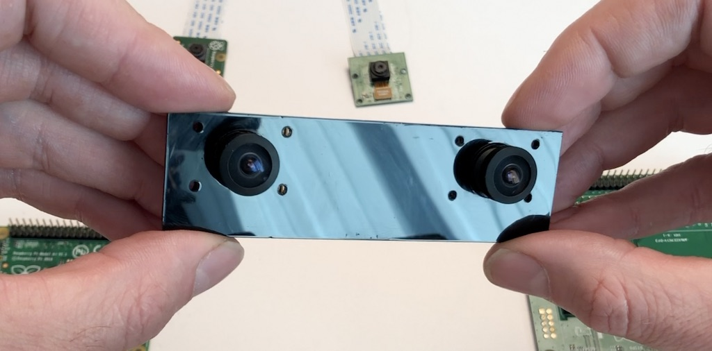 Stereo camera with CM3 inside for OpenCV learners, drones